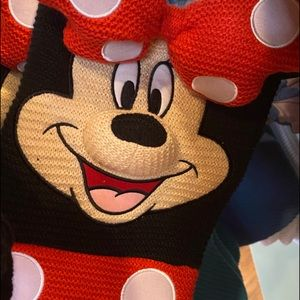 🎄Disney Minnie Mouse Knitted Christmas Stocking
